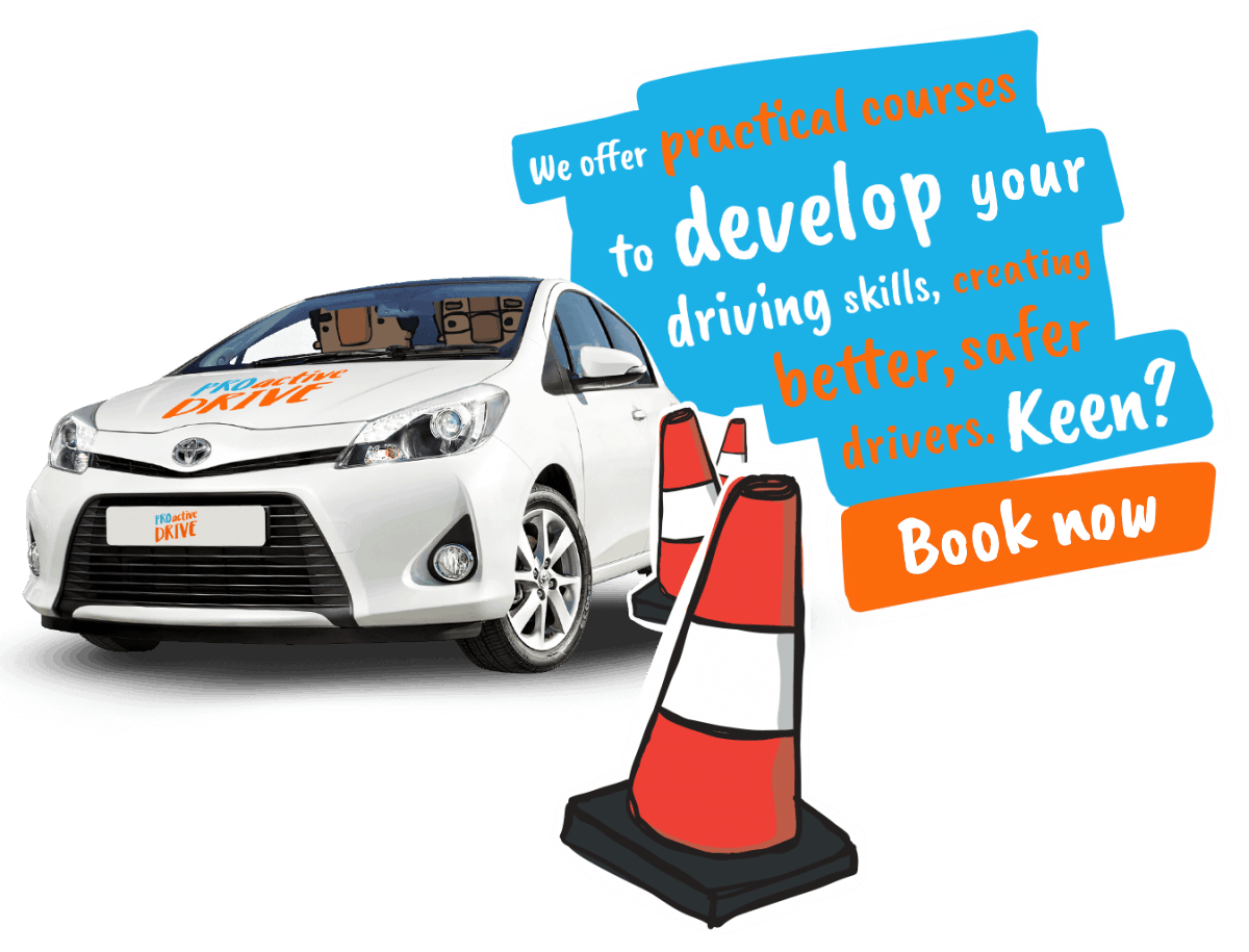 We offer practical courses to develop your driving skills, creating better, safer drivers. Keen? Book now!
